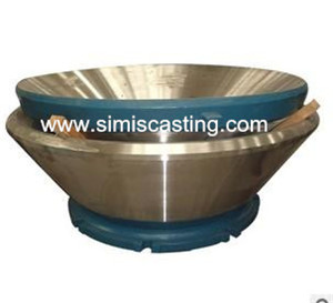 concave & mantle of cone crusher