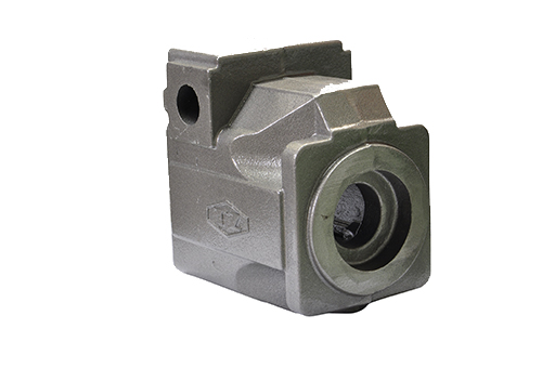 hydraulic pump body casting