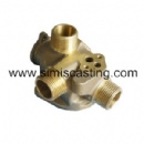 Copper Lost Wax Casting Part - Pipe Fittings